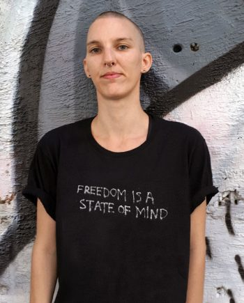 FREEDOM IS A STATE OF MIND T-SHIRT-1