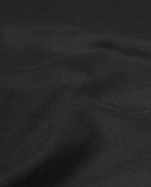 black t-shirt good quality fabric
