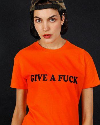 give afuck t-shirt millennial activism