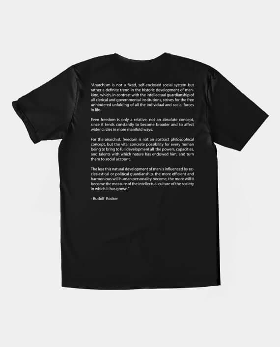 rudolph rocker anarchy t-shirt back print