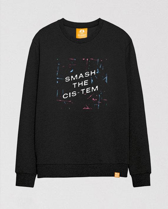 smash-the-cis-tem-lgbt-pride-transgender-sweatshirt