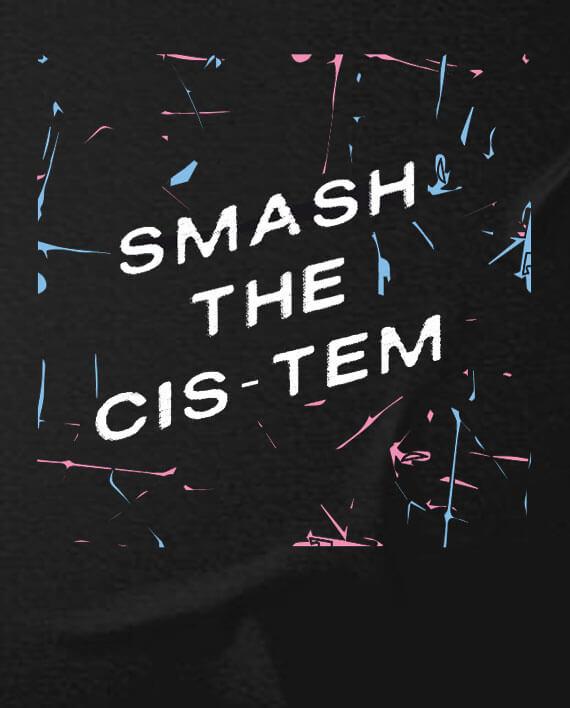 smash-the-cistem-t-shirt-gender-neutral