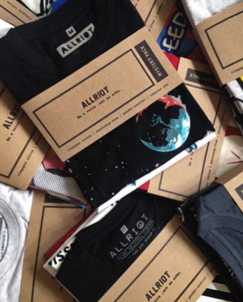 allriot mystery t-shirt pack box
