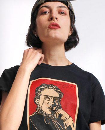 emma goldman anarchy black tee shirt