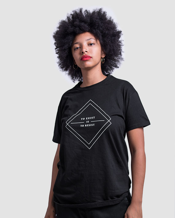 10 to resist is to exist t-shirt minimalist