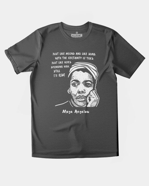 26 maya angelou tshirt still i rise quote