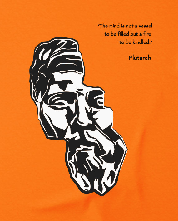 30 plutarch t-shirt greek philosophy quote