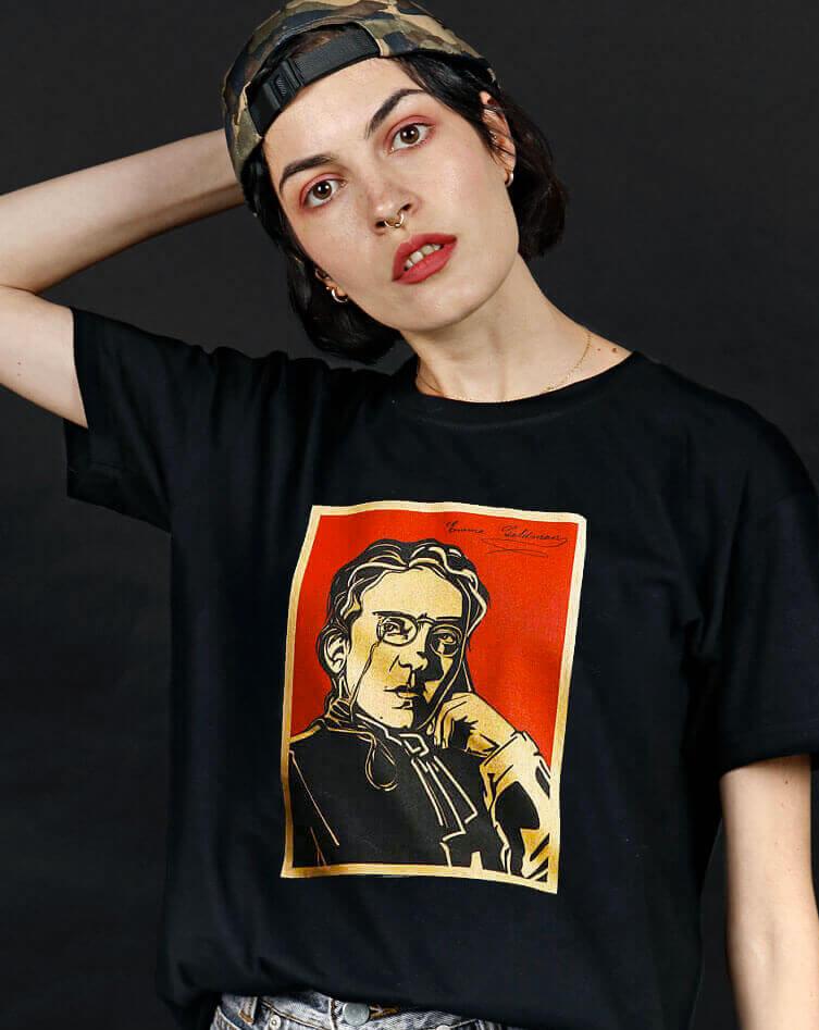 emma goldman t-shirt socialist hero