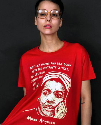 maya angelou t-shirt still i rise