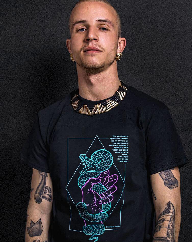 nietzsche t-shirt philosophy