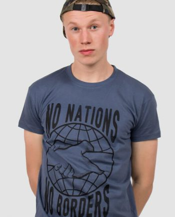 no nations no borders t-shirt refugees welcome