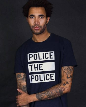 police the police t-shirt anti cop slogan tee