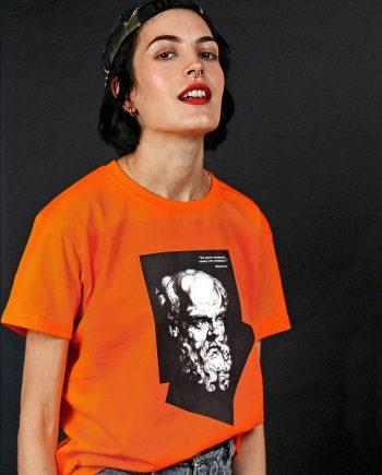 socrates t-shirt bright streetwear graphic shirt
