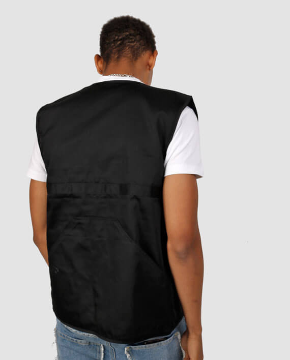 cool safari vest with pockets workwear streetwear