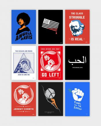allriot political posters illustrations cartoons