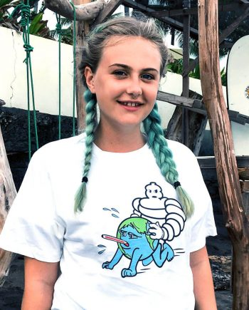 climate change t-shirt earth being fucked
