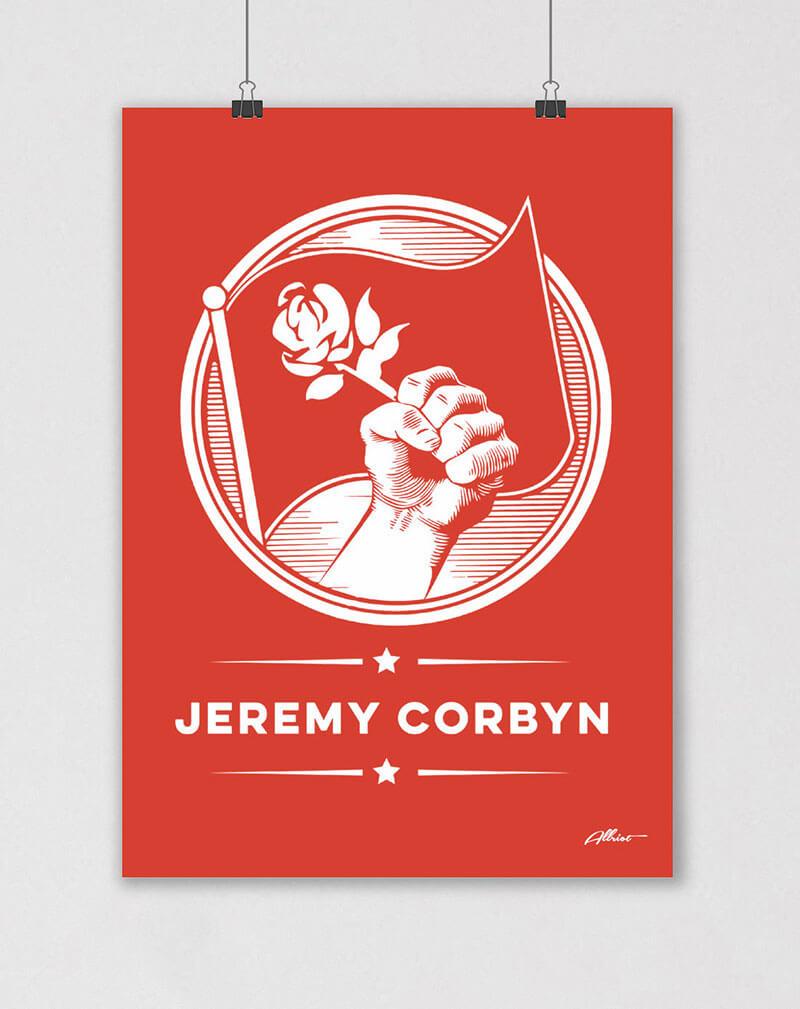 jeremy corbyn poster