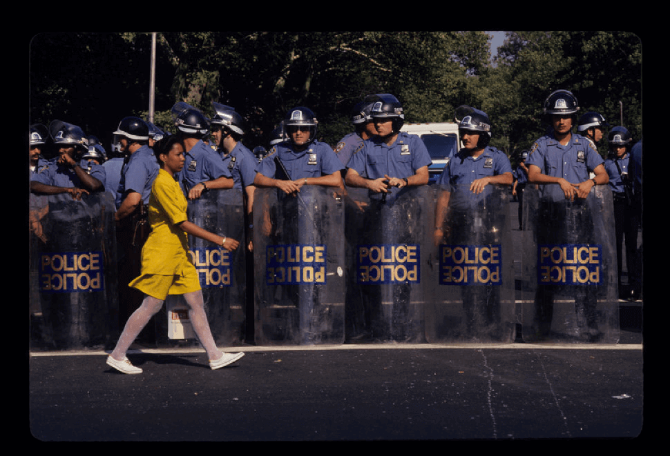 three day racial riot best protest photos