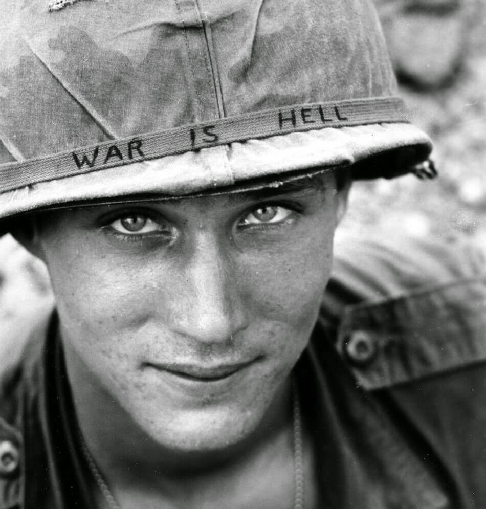 war is hell vietnam war soldier