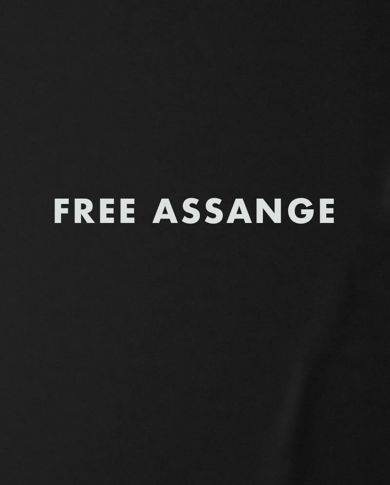 free assange t-shirt whistleblower