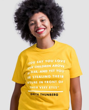 greta thunberg t-shirt climate strike
