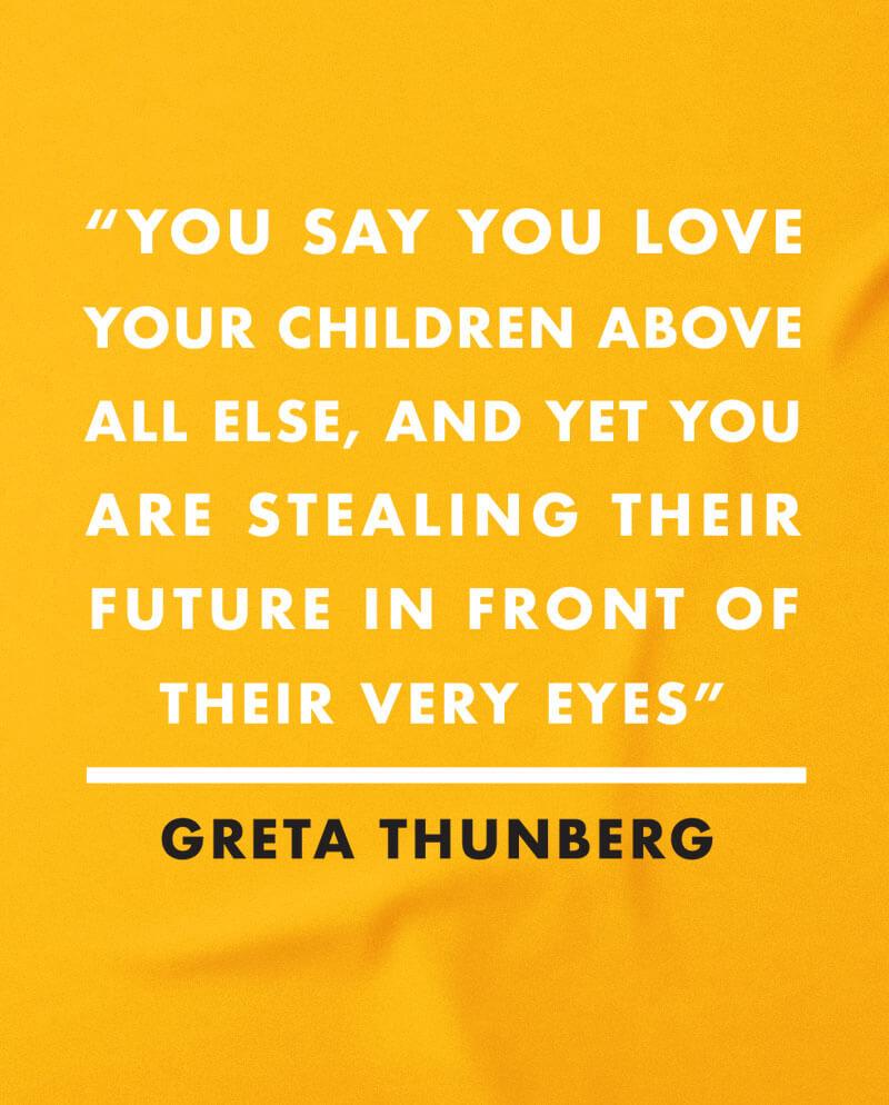 greta thunberg t-shirt environmentalist tee