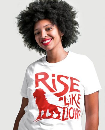 rise like lions for the many labour party t-shirt