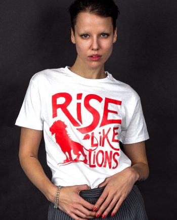 rise like lions labour party t-shirt