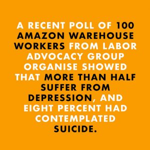 boycott amazon suicide rate among employers