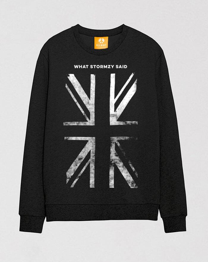 stormzy sweatshirt fuck boris