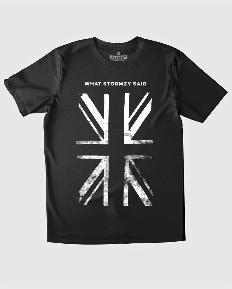what stormzy said fuck boris t-shirt