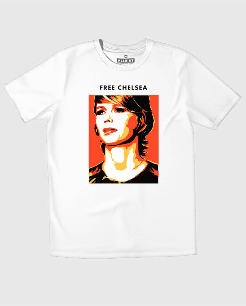 free chelsea t-shirt bradley manning support