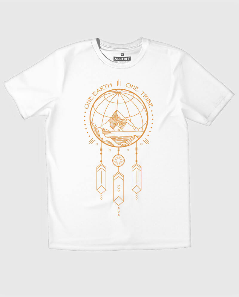 one tribe t-shirt love peace