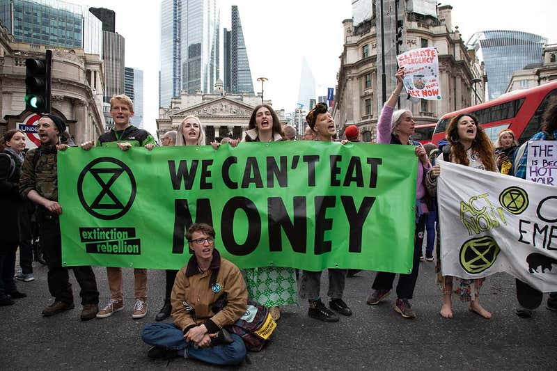 Extinction Rebellion Arrest