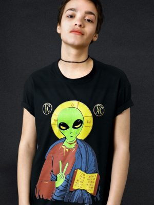 alien-jesus-t-shirt-political-atheism-funny