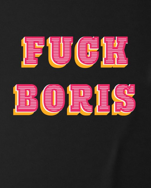 Fuck Boris T-shirt