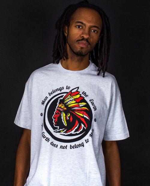 Man Belongs to the Earth T-shirt