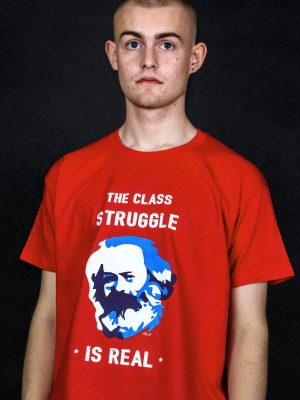 marx t-shirt class struggle is real funny