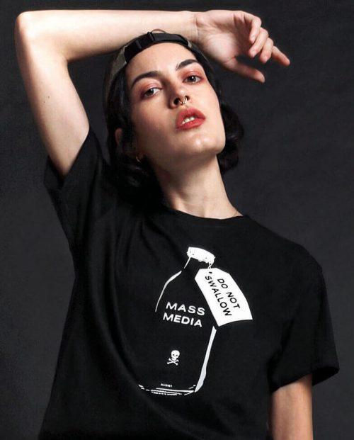 Mass Media Do Not Swallow T-shirt
