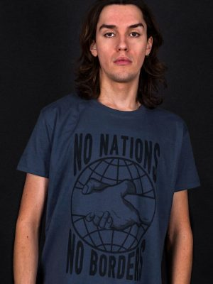 no borders no nations t-shirt progressive politics