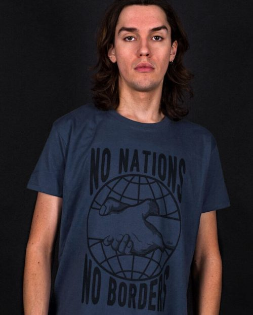 No Nations No Borders T-shirt