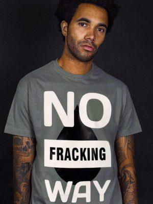 no fracking way t-shirt funny slogan political