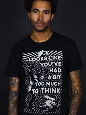 police brutality t-shirt too much to think