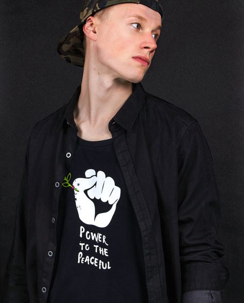 power-to-the-peaceful-t-shirt-political-4