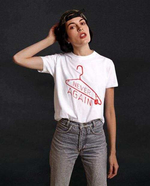 Keep Abortion Legal - Never Again T-shirt