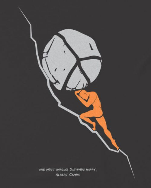 Myth of Sisyphus T-shirt