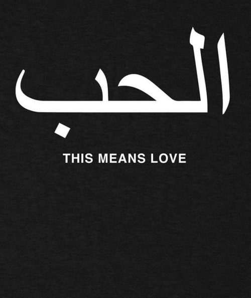 This Means Love T-shirt