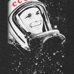 Yuri Gagarin CCCP T-shirt