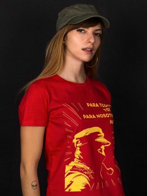 zapatista t-shirt para todos todo