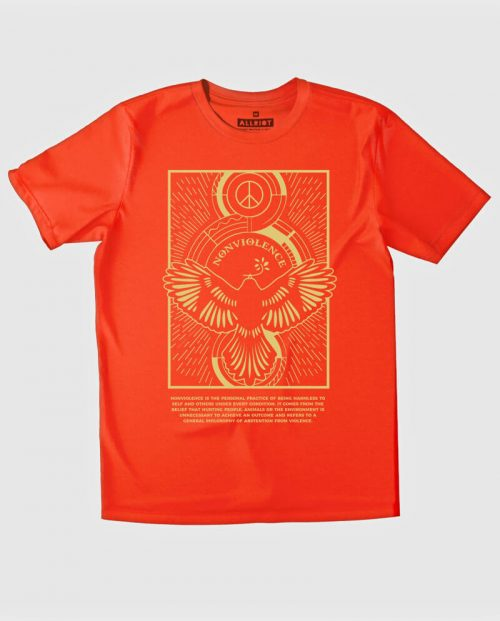 nonviolence t-shirt red